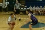 Gabbie on defense