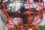 Tay & Yonna & Zariah at globe 2